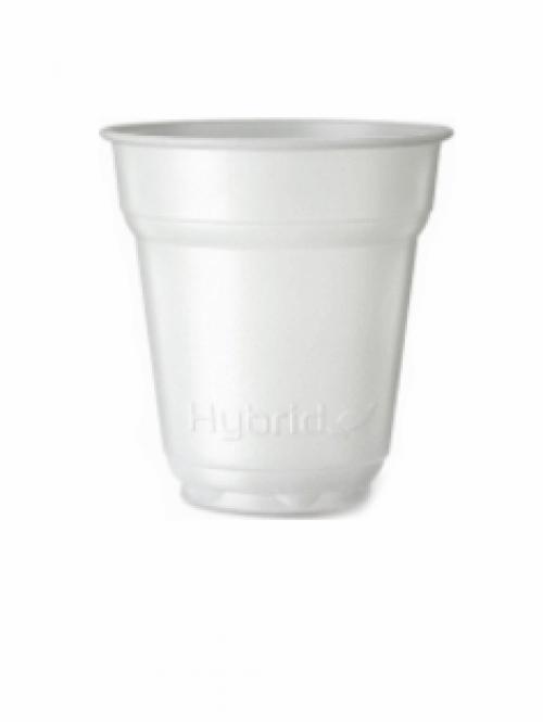 Стакан для кофе автоматов экологичный Flo Hyrbid 165 мл (100шт)