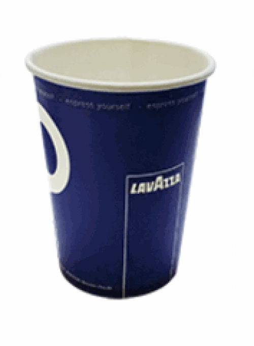 Стакан для кофе автоматов 240 мл. Бумажный Lavazza (100шт)