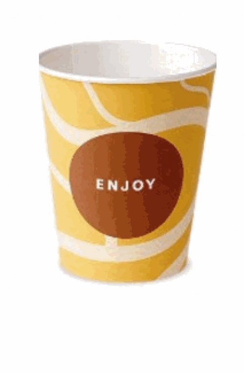 Стакан для кофе автоматов 200 мл Huhtamaki Enjoy (100шт)