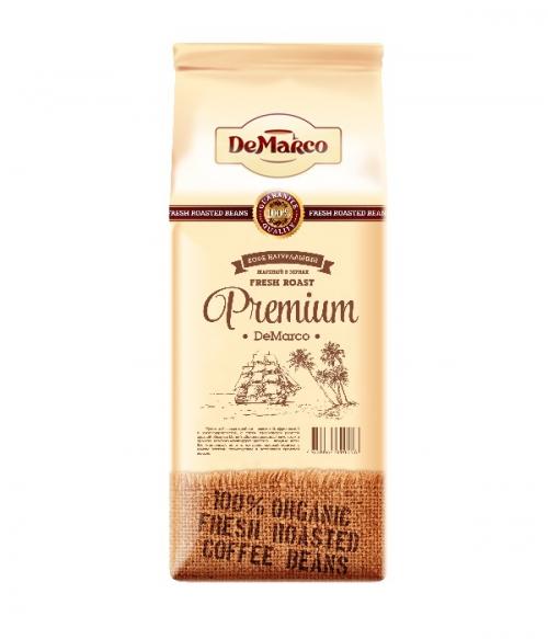 Зерновой кофе Demarco Premium Демарко Премиум 1.0кг