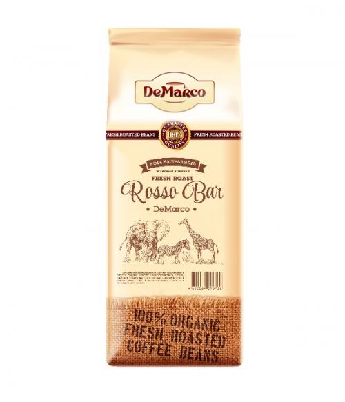 Зерновой кофе Demarco Rosso Bar Демарко Россо Бар 1.0кг